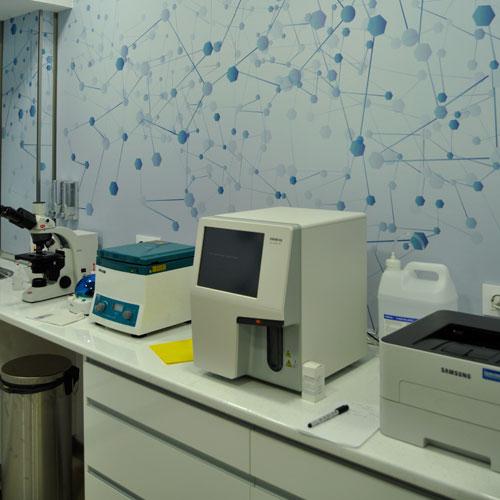 Laboratorio - Clínica veterinaria Jardín de la Reina